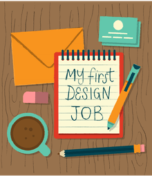 How To Get Your First Design Job With No Experience by Allison House